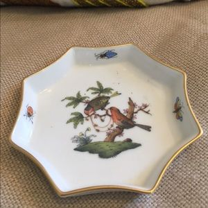 Herend Bird Dish